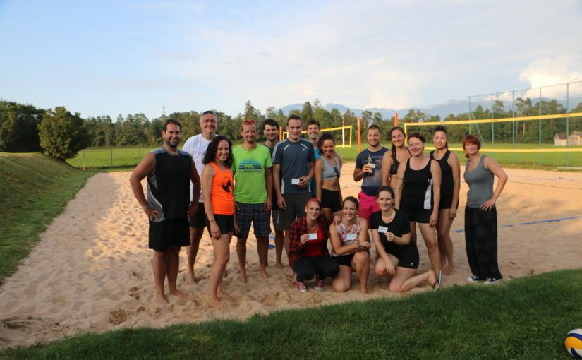 Internes Beachturnier 24.08.2019